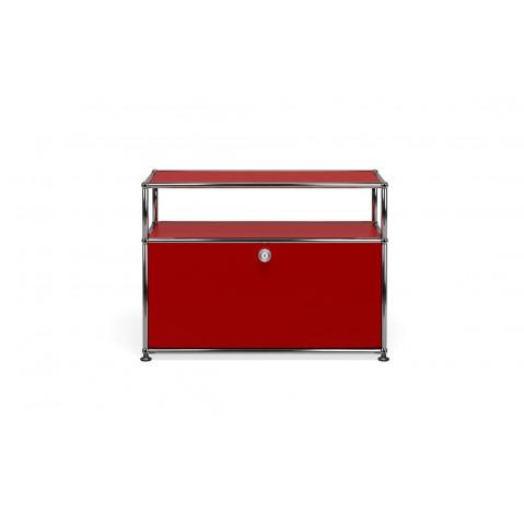 Petit meuble de rangement usm haller m6 5 coloris for Rangement entre deux meubles
