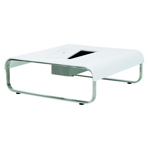 Grande table basse FOLD de Royal Botania, blanc