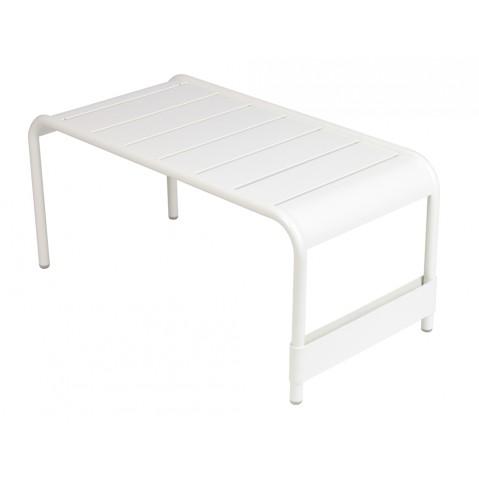 Grande table basse LUXEMBOURG de Fermob blanc coton