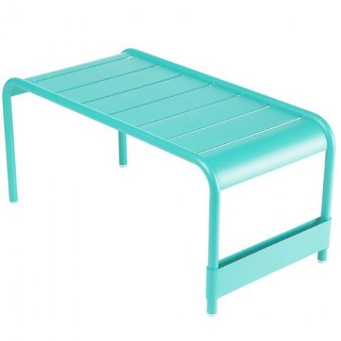 Grande table basse LUXEMBOURG de Fermob Bleu lagune