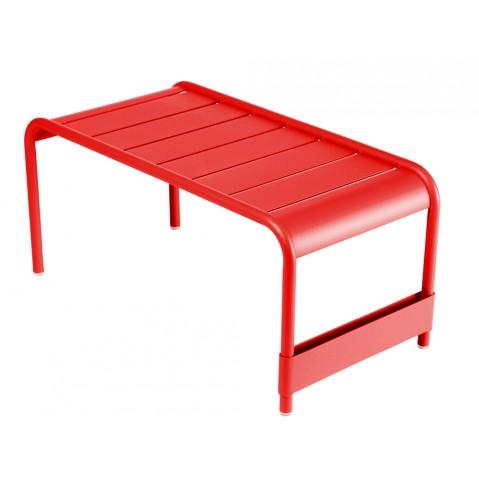 Grande table basse LUXEMBOURG de Fermob coquelicot