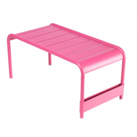 Grande table basse LUXEMBOURG de Fermob fuchsia