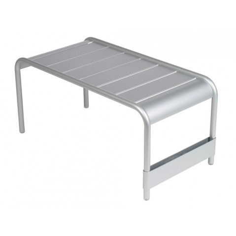 Grande table basse LUXEMBOURG de Fermob gris métal