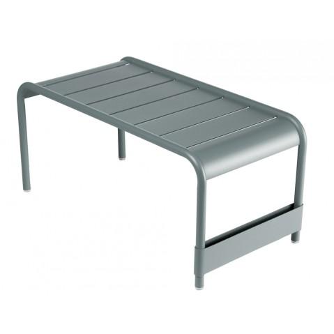 Grande table basse LUXEMBOURG de Fermob gris orage