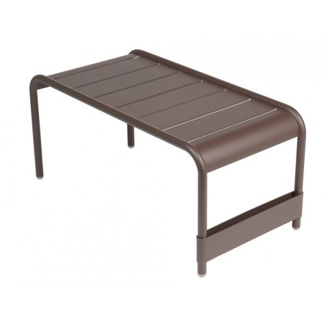 Grande table basse LUXEMBOURG de Fermob rouille
