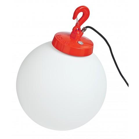 Lampe GRUMO SPHÈRE N°3 de Roger Pradier®, Rouge
