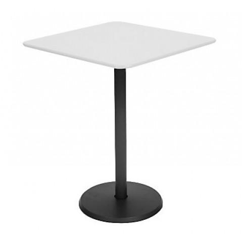 fermob gu ridon carr concorde de fermob 57 x 57 cm blan coton. Black Bedroom Furniture Sets. Home Design Ideas