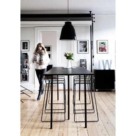tabouret de bar hee de hay 7 coloris. Black Bedroom Furniture Sets. Home Design Ideas