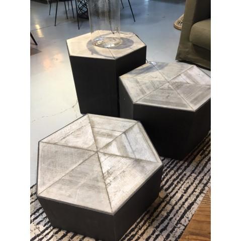 bout de canap alagoas blanc mod le d 39 exposition. Black Bedroom Furniture Sets. Home Design Ideas
