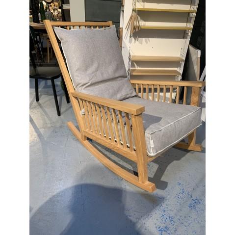Rocking chair GRAY 09 de Gervasoni, modèle d'exposition