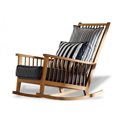 Rocking chair inout 709 de gervasoni for Schaukelstuhl inout 709