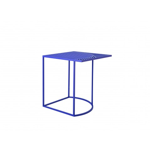 Table d 39 appoint carr e iso b de petite friture 4 coloris - Table d appoint carree ...