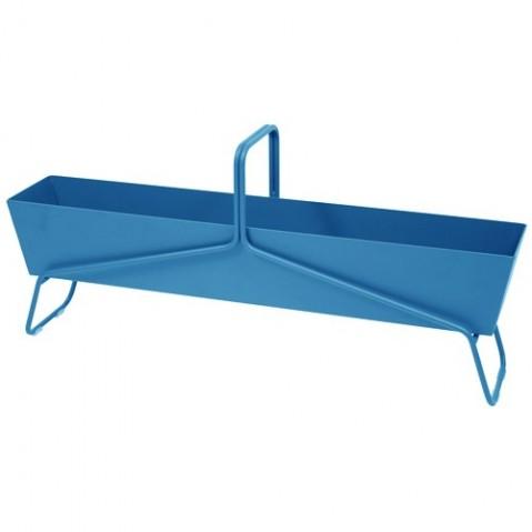Jardinière format long BASKET de Fermob, Bleu turquoise