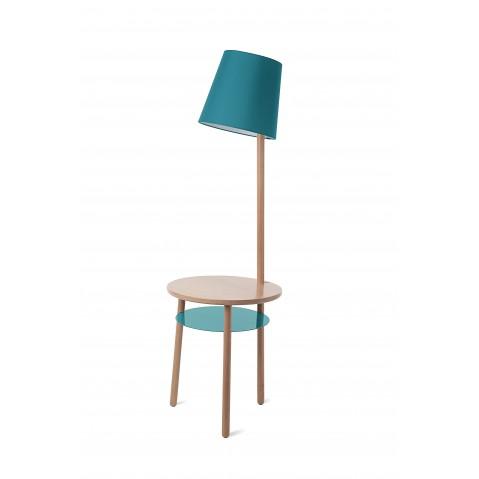 Lampe-guéridon avec table naturelle JOSETTE de Hartô, 3 coloris