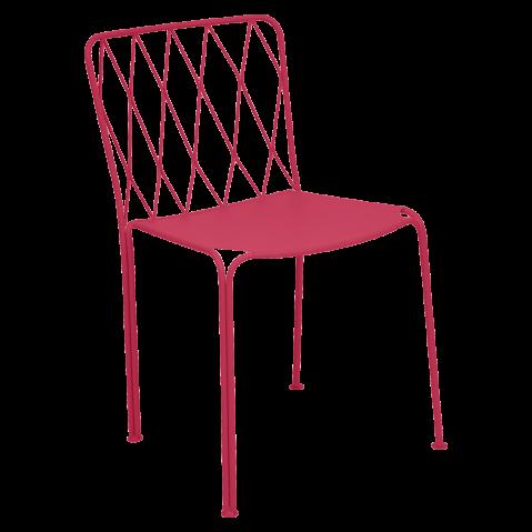 Chaise KINTBURY de Fermob, Rose praline