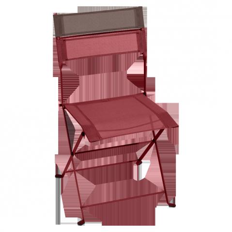 Chaise pliante LATITUDE de Fermob, Piment
