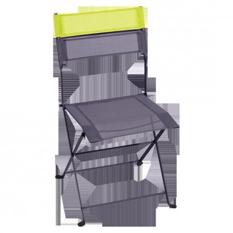 Chaise pliante LATITUDE de Fermob, Prune
