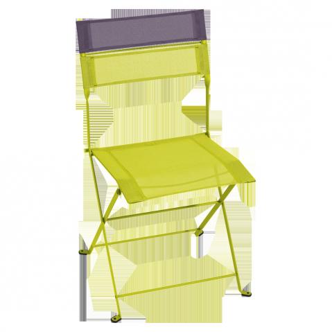 Chaise pliante LATITUDE de Fermob verveine