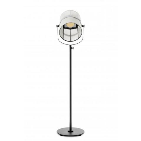 la lampe paris de maiori blanc structure noir. Black Bedroom Furniture Sets. Home Design Ideas