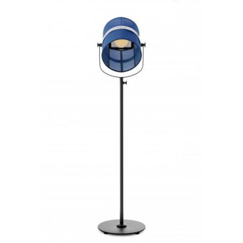 La lampe PARIS  de Maiori, Bleu marine Structure noir
