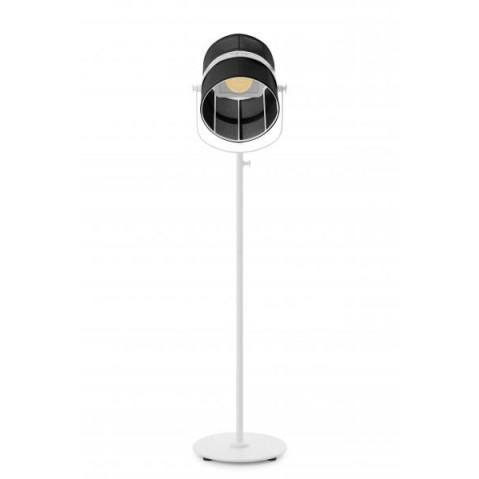 La lampe PARIS de Maiori, Noir Structure Blanc