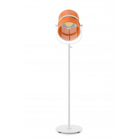 La lampe PARIS de Maiori, Orange Structure Blanc