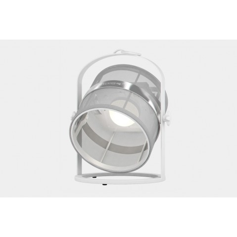 La lampe petite de MAIORI, Blanc Structure Blanc