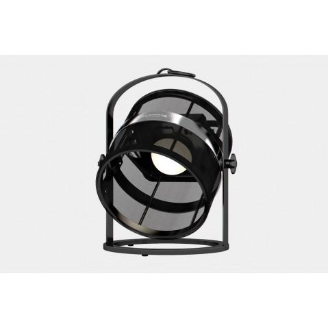 La lampe petite de MAIORI, Noir Structure noir