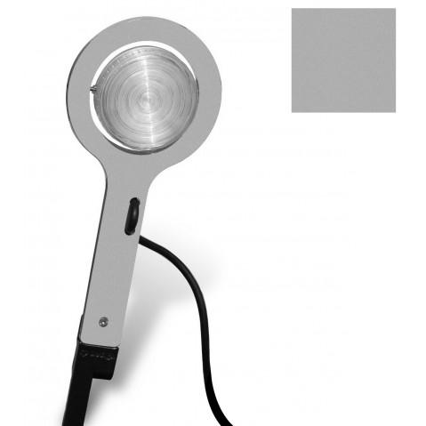 Lampe à piquer PICTO de Roger Pradier, Gris métal