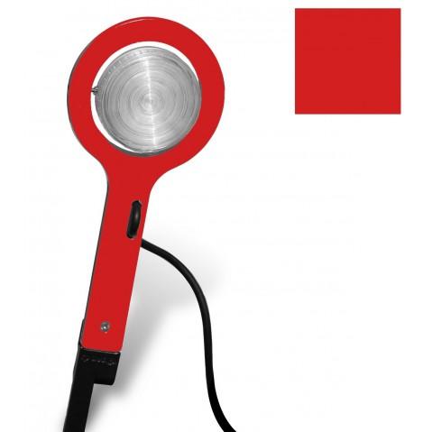 Lampe à piquer PICTO de Roger Pradier, Rouge