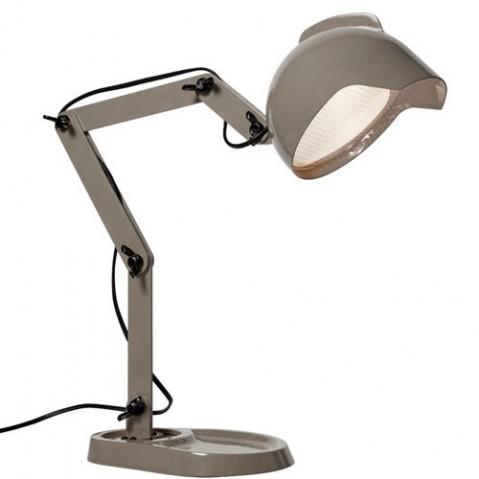 Lampe à poser DUII de Diesel Foscarini, Gris