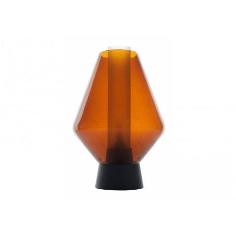 Lampe à poser METAL GLASS 1 de Diesel Foscarini, Ambre