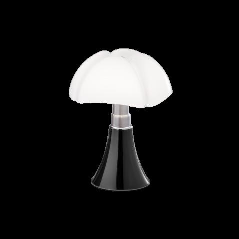 Lampe à poser MINI PIPISTRELLO LED TACTILE DIMMABLE de Martinelli Luce, Titane