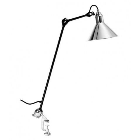 Lampe architecte GRAS N°201 noir et chrome