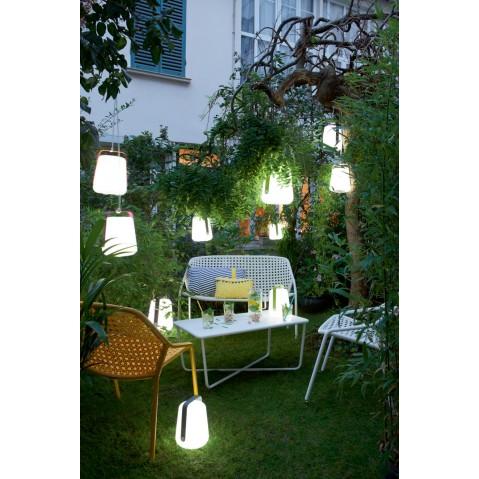 Petite lampe balad de fermob aubergine - Lampe balad fermob ...