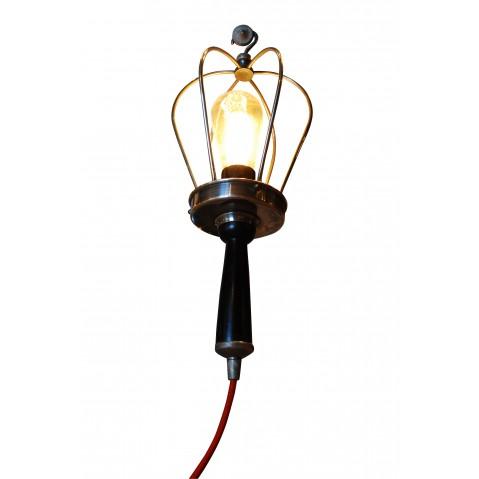 Lampe BALADEUSE câble rouge