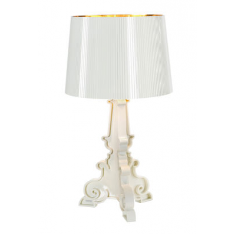 Lampe BOURGIE de Kartell, Blanc or