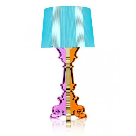 Lampe BOURGIE de Kartell, Multicolore Bleu clair