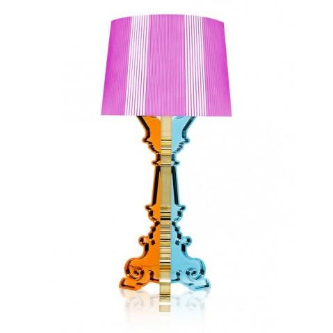 Lampe BOURGIE de Kartell, Multicolore Fuchsia