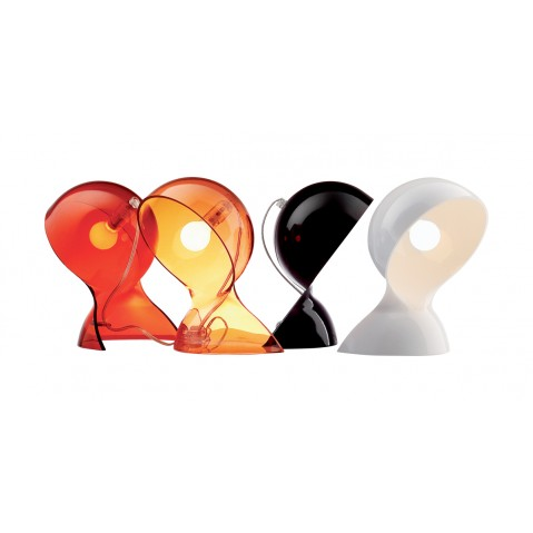 Lampe DALU d'Artemide, noir
