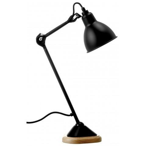 Lampe de bureau N°206 GRAS noir, 66 cm