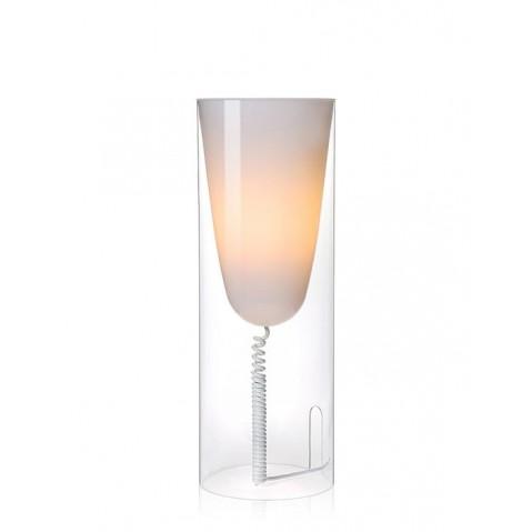 Lampe de bureau toobe de kartell cristal - Lampe de bureau kartell ...
