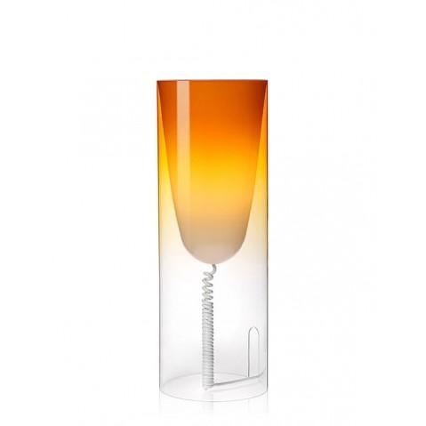 Lampe de bureau TOOBE de Kartell, Orange