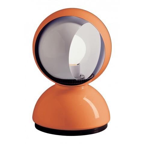 Lampe ECLISSE d'Artemide orange