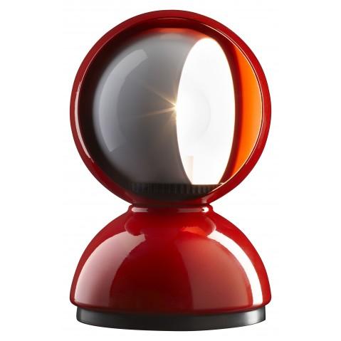 Lampe ECLISSE d'Artemide rouge