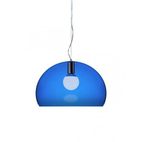 Lampe FL/Y de Kartell, Bleu