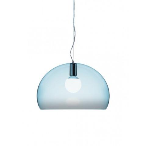 Lampe FL/Y de Kartell, Bleu ciel