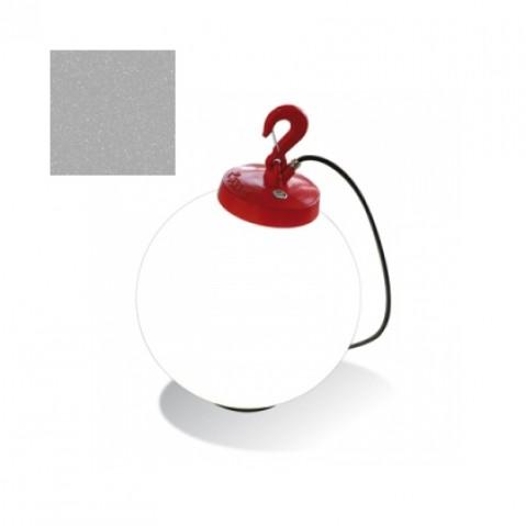 Lampe GRUMO SPHÈRE de Roger Pradier, Gris métal