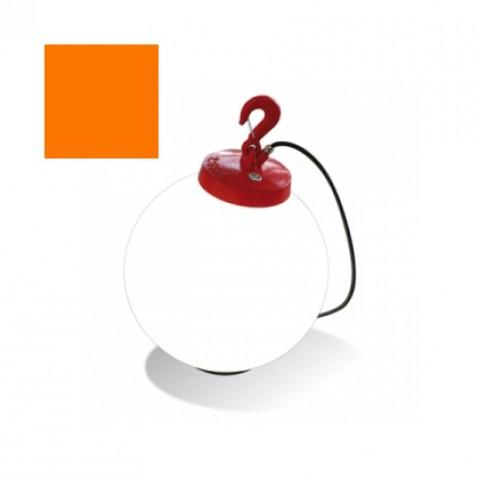 Lampe GRUMO SPHÈRE de Roger Pradier, Orange