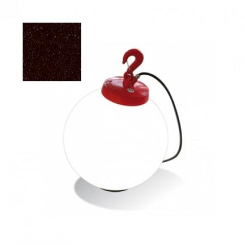 Lampe GRUMO SPHÈRE de Roger Pradier, Rouille